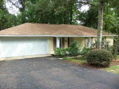 Spanish Fort Single Family Home For Sale: 56 Caisson Trace