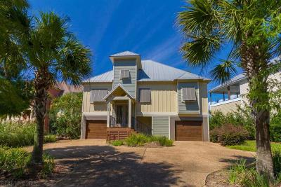 Gulf Shores Single Family Home For Sale: 18195 Dancing Water Lane