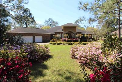 Gulf Shores Single Family Home For Sale: 641 Estates Drive