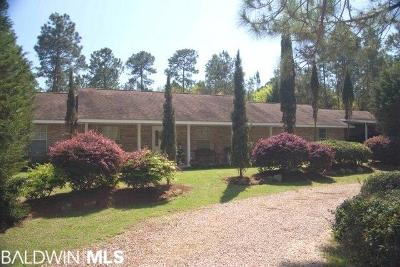 Elberta Single Family Home For Sale: 29830 Archie Road