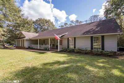 Robertsdale Single Family Home For Sale: 34850 Magnolia Farms Rd