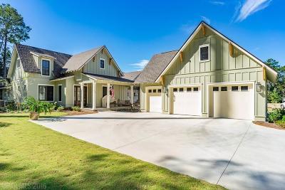 Bon Secour, Fairhope, Foley, Gulf Shores, Orange Beach Single Family Home For Sale: 320 Crane Place