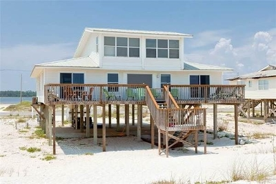 Gulf Shores Single Family Home For Sale: 2889 W Beach Blvd