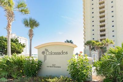 Gulf Shores Condo/Townhouse For Sale: 527 E Beach Blvd #2101