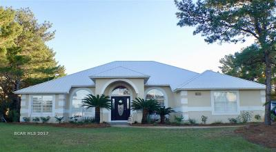 Orange Beach Single Family Home For Sale: 31158 Oak Drive