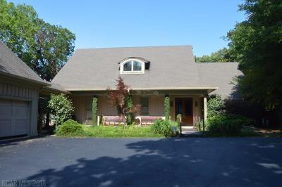 Fairhope Single Family Home For Sale: 909 Sea Cliff Drive