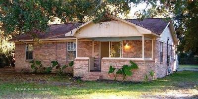 Gulf Shores Single Family Home For Sale: 629 E Canal Road