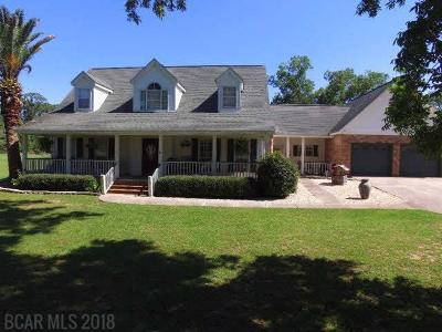 Robertsdale Single Family Home For Sale: 19781 Wilters Street