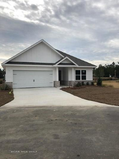 Orange Beach Single Family Home For Sale: 26177 St Lucia Drive