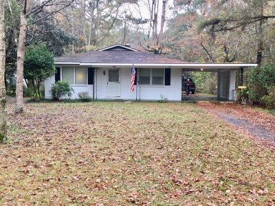 Single Family Home For Sale: 1959 Boykin Blvd