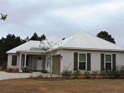 Gulf Shores Single Family Home For Sale: 4030 Muirfield Court