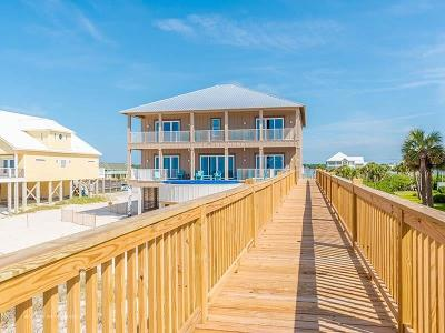 Gulf Shores Single Family Home For Sale: 2825 W Beach Blvd