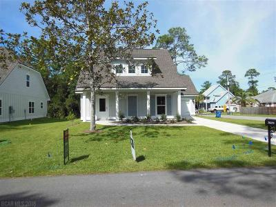 Orange Beach Single Family Home For Sale: 26699 Magnolia Avenue