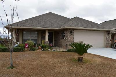 Foley Single Family Home For Sale: 1704 Arcadia Drive