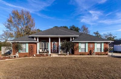 Foley Single Family Home For Sale: 12434 Montague Dr
