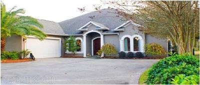 Gulf Shores Single Family Home For Sale: 51 Lagoon Dr