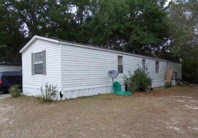 Elberta Single Family Home For Sale: 25317 Pompano Dr