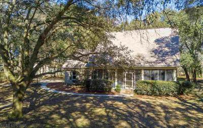Fairhope Single Family Home For Sale: 8877 Morphy Avenue