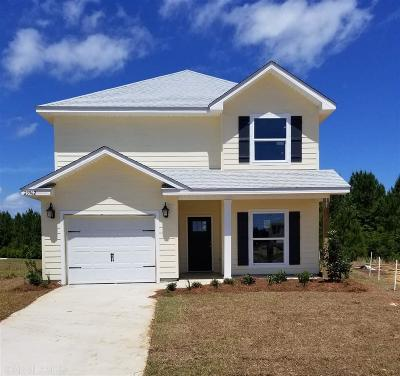 Orange Beach Single Family Home For Sale: 23962 Cottage Loop