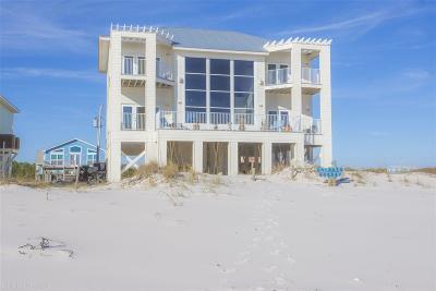 Gulf Shores Single Family Home For Sale: 5538 Beach Blvd