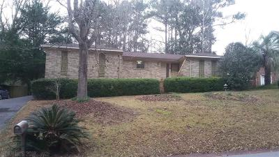 Spanish Fort Single Family Home For Sale: 39 Caisson Trace