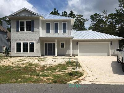 Orange Beach Single Family Home For Sale: 26703 Terry Cove Drive