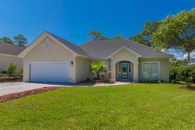 Orange Beach Single Family Home For Sale: 4633 Bayou Court