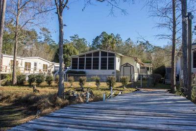Elberta Single Family Home For Sale: 24993 Pompano Dr
