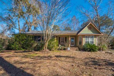Foley Single Family Home For Sale: 9771 Clarke Ridge Road