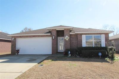 Foley Single Family Home For Sale: 1012 Summerton Drive