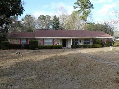 Foley Single Family Home For Sale: 400 W Verbena Avenue