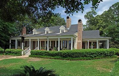 Fairhope Single Family Home For Sale: 919 Seacliff Drive