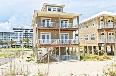 Gulf Shores, Orange Beach Single Family Home For Sale: 1833 W Beach Blvd