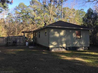Magnolia Springs Single Family Home For Sale: 5821 Pinewood Dr