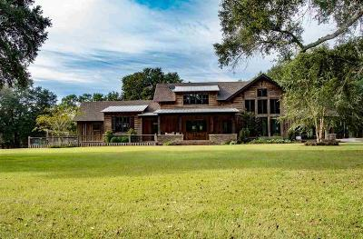 Mobile County Single Family Home For Sale: 11579 Argyle Road