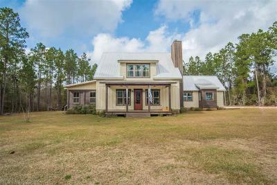 Elberta Single Family Home For Sale: 17553 Francis Harrell Rd