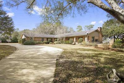 Mobile County Single Family Home For Sale: 4350 Windsor Rd
