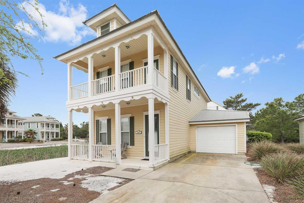 2 bed / 2 full, 1 partial baths Home in Gulf Shores for $369,900