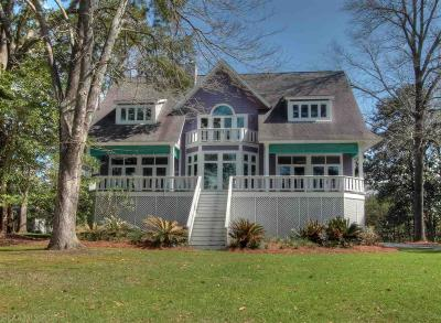 Fairhope Single Family Home For Sale: 913 Sea Cliff Drive