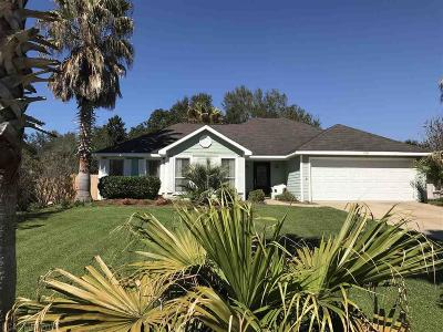 Gulf Shores Single Family Home For Sale: 16743 Patricia Drive