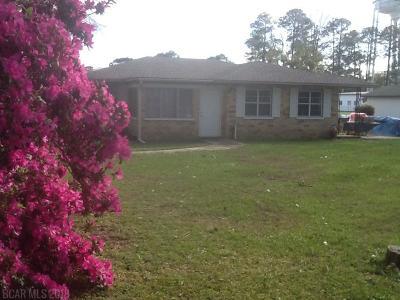 Foley Single Family Home For Sale: 318 E Orange Avenue