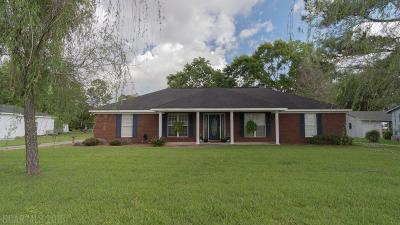 Robertsdale Single Family Home For Sale: 18401 Barginer Drive