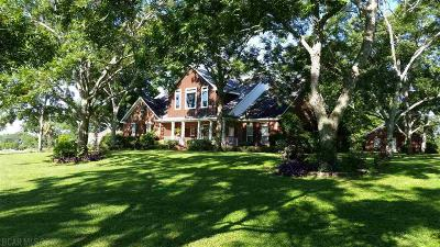 Fairhope Single Family Home For Sale: 12985 Saddlebrook Circle