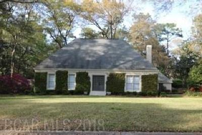 Daphne Single Family Home For Sale: 302 Bay Hill Drive