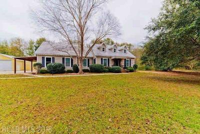 Fairhope Single Family Home For Sale: 8447 Morphy Avenue