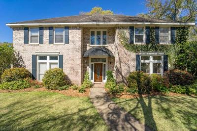 Fairhope Single Family Home For Sale: 15 Cambridge Court