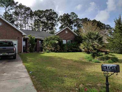 Loxley Single Family Home For Sale: 25798 Lakeland Drive