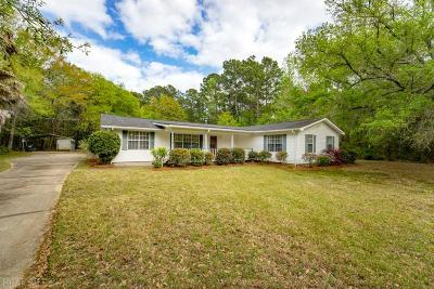 Point Clear Single Family Home For Sale: 16490 Scenic Highway 98