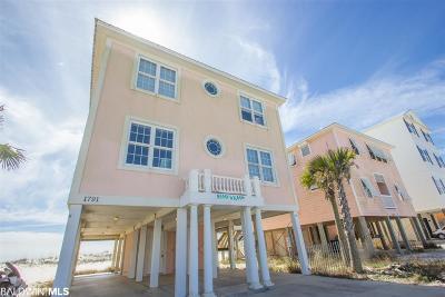 Gulf Shores, Orange Beach Single Family Home For Sale: 1791 W Beach Blvd