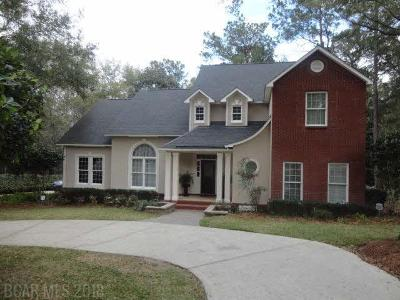 Fairhope Single Family Home For Sale: 100 Wedgewood Circle